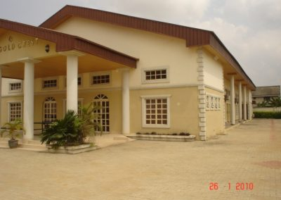 THE GOLD CREST – MULTI PURPOSE HALL, PORT HARCOURT